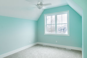 Starting the process of interior painting in Moorhead, MN.