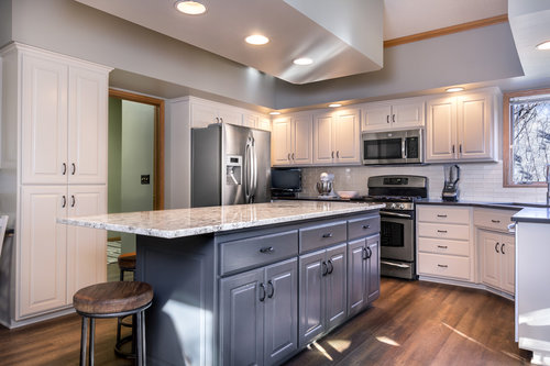 Make the kitchen the heart of the home with cabinet refinishing in Fargo, ND.