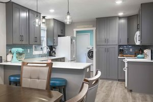 Starting the process of refinishing your kitchen cabinets in Fargo, ND.