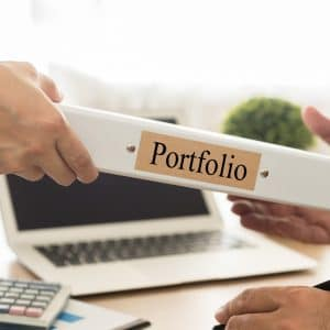 "Ask your cabinet painting team in Fargo, ND ""can I see your portfolio?"""