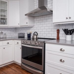 Painted cabinet ideas in Fargo, ND: Bright, clean white