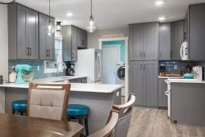 Painted cabinet ideas in Fargo, ND: Keep it neutral with gray