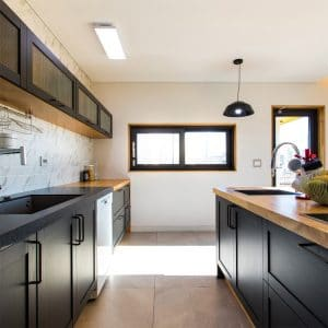 Dark colors are a remodel trend for 2021 in Fargo, ND.