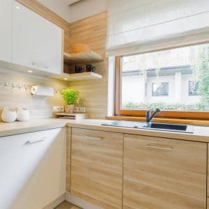 Wood finishes in the kitchen are a remodel trend for 2021 in Fargo, ND.